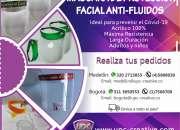 Mascara de protección facial anti-fluidos