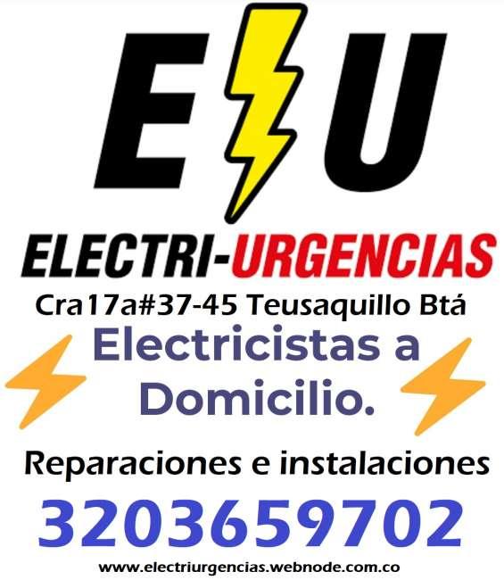 Instalaciones eléctricas,cortos,apagones,emergencias.