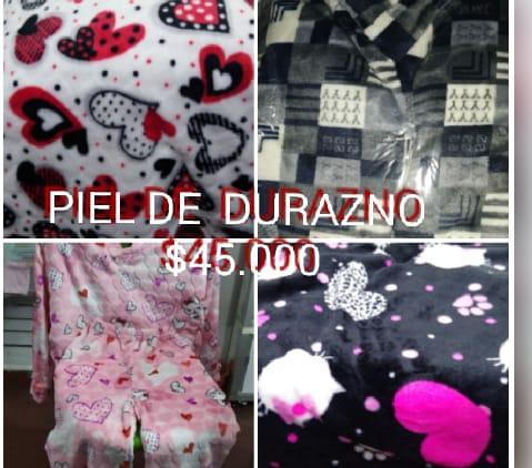 Ofrecemos pijamas en polialgodon térmicas y en satín sexis buenos materiales , buen precio al mayor y al detal