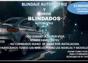BLINDAJES AUTOMOTRIZ Y VIDRIOS BLINDADOS