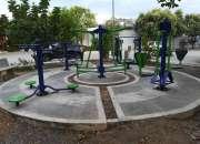 gimnasios biosaludables y parques infantiles