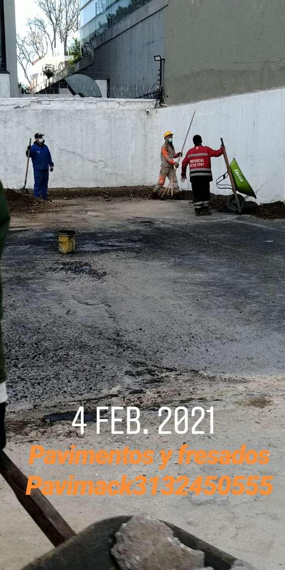 Reparaciones en vía para bodegas