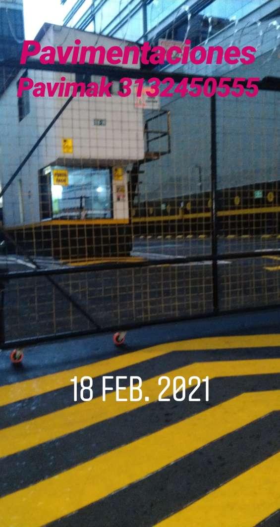 Reparaciones en material caliente para canchas deportivas en urbanizaciones anivel nacional