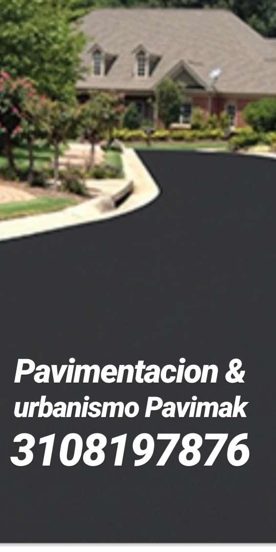 Repavimentación y demarcaciones en hoteles y urbanismo