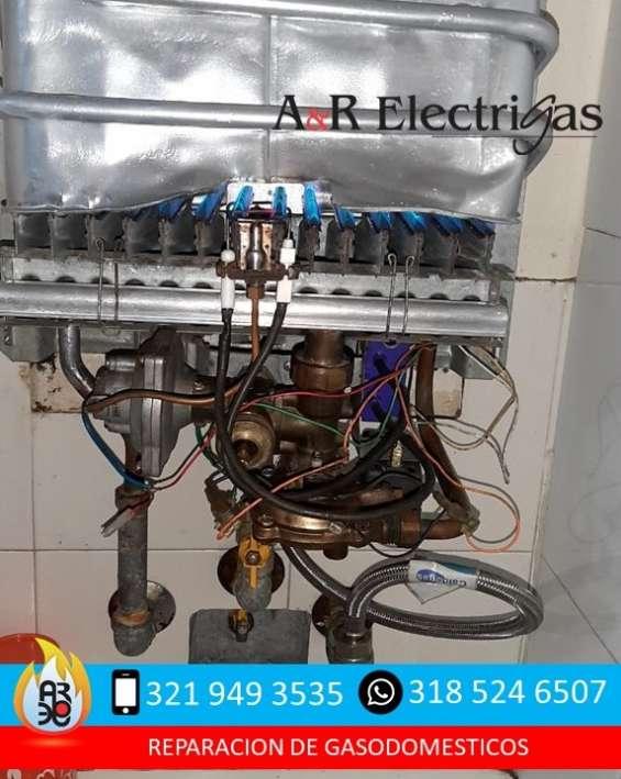 Reparacion y mantenimiento de calentadores de gas