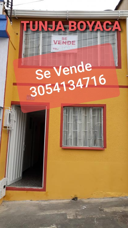 Tunja boyaca casa en venta barrio la fuente 4 etapa